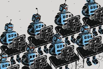 Robot sẽ 'cướp' việc của 1/5 lực lượng lao động toàn cầu