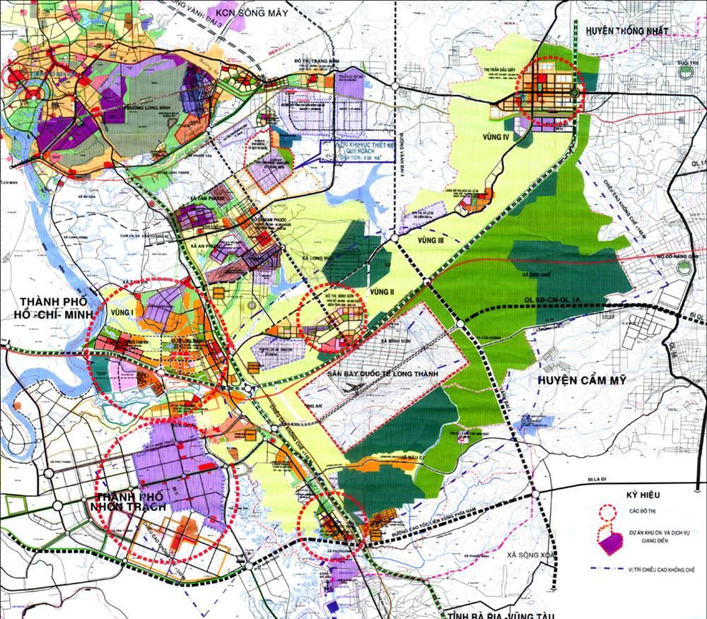 Điểm danh các doanh nghiệp có quỹ đất lớn xung quanh sân bay Long Thành