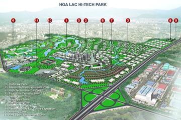 Đô thị Hòa Lạc dự kiến có 600.000 người vào năm 2030