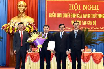Ông Nguyễn Mạnh Dũng giữ chức Phó bí thư tỉnh Hà Giang