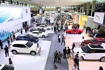 Doanh số thị trường ôtô lập đỉnh 8 tháng
