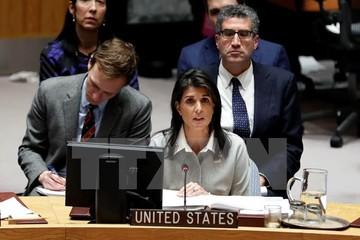 Mỹ bị cô lập tại cuộc họp khẩn của Hội đồng Bảo an về Jerusalem