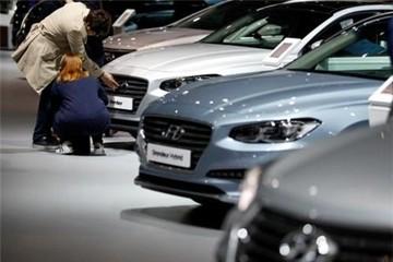 Đồng won mạnh lên tác động tới ngành sản xuất ô tô Hàn Quốc năm 2018