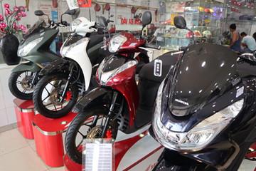 Giá xe máy mùa sát Tết - Honda đội 20 triệu, Yamaha giảm 1-2 triệu