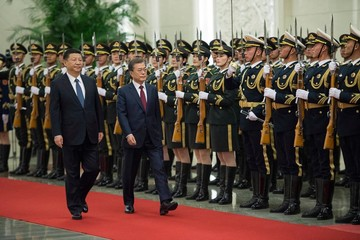 Tổng thống Hàn Quốc tìm 'khởi đầu mới' với ông Tập Cận Bình
