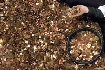 Ngân hàng Đức mất 6 tháng đếm 1,2 triệu đồng tiền xu