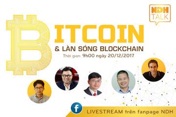 NDH tổ chức NDH Talk 06 chủ đề 'Bitcoin và làn sóng Blockchain'