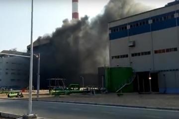 Cháy tại nhà máy nhiệt điện Thái Bình 2, không có thiệt hại về người và thiết bị