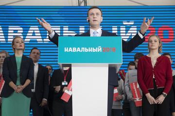 Đối thủ của ông Putin tuyên bố tranh cử tổng thống Nga