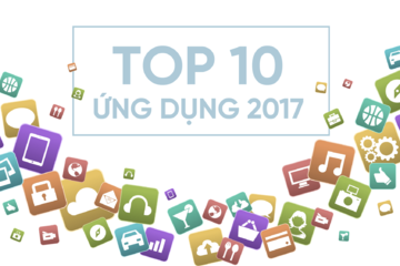 [Infographic] Top 10 ứng dụng 2017
