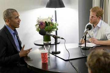 Cựu Tổng thống Obama 'tâm sự' cùng Hoàng tử Anh