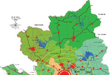 Quy hoạch đất xây dựng đô thị tại TP.HCM khoảng 270.000 - 290.000 ha