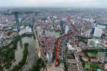 Phê duyệt chủ trương làm tuyến đường Hoàng Cầu - Voi Phục