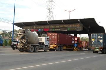 Vì sao trạm thu phí Xa lộ Hà Nội ngưng hoạt động?