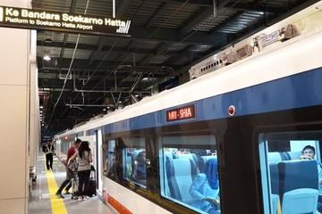 Indonesia ra mắt dịch vụ tàu hoả đến sân bay