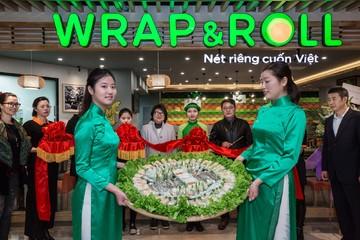 Wrap & Roll có cửa hàng nhượng quyền thứ 2 tại Thượng Hải