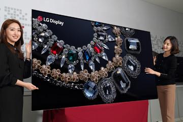 LG ra mắt TV lớn nhất, phân giải tốt nhất từ trước đến nay