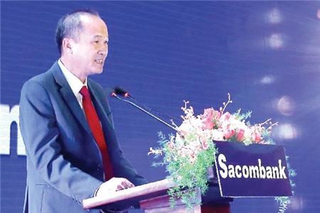 """Ông Dương Công Minh, Chủ tịch HĐQT Sacombank: """"Nỗ lực xử lý cơ bản nợ xấu trong vòng 3-5 năm"""""""