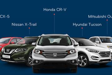 Phân khúc crossover cỡ C: Khi cả Mazda CX-5 và CR-V đều tăng giá