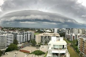 Đám mây lạ xuất hiện ở Australia