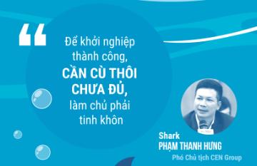 [Infographic] Những câu nói ấn tượng của 'dàn cá mập' và start-up tại Shark Tank Việt Nam