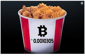 KFC Canada chấp nhận thành toán bằng bitcoin