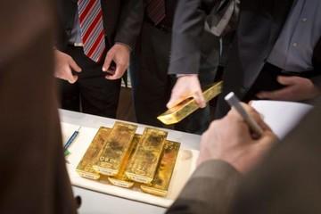 Giá vàng lên đỉnh 4 tháng