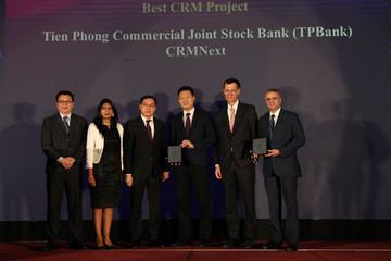 TPBank nhận 3 giải thưởng ngân hàng quốc tế xuất sắc