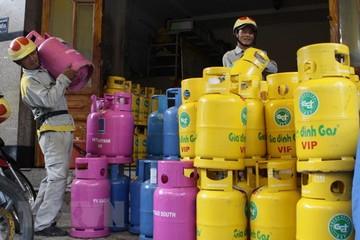 Từ 1/2, giá gas bán lẻ giảm 20.000 đồng trên mỗi bình 12kg