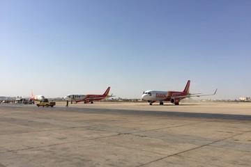 Ba tàu bay Vietjet lên đường nhận nhiệm vụ ở khu vực Trung Đông
