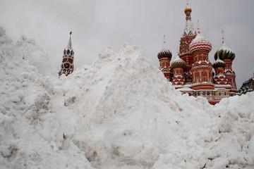 Moscow chịu 'trận tuyết thế kỷ'