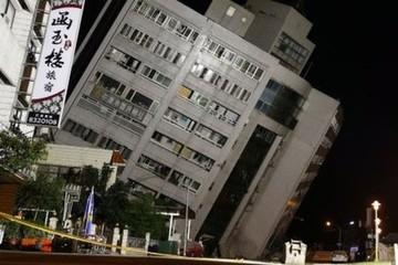Động đất mạnh ở Đài Loan, hơn 200 người thương vong