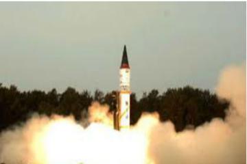 Ấn Độ thử thành công tên lửa đạn đạo có thể bay tới Trung Quốc