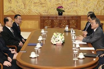 Ông Kim Jong Un mời Tổng thống Hàn Quốc thăm Bình Nhưỡng