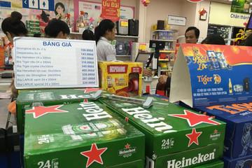 Giá bia bắt đầu nhảy múa điệu 'Tết mà'!