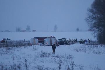 Máy bay Nga rơi gần Matxcơva, 71 người tử nạn