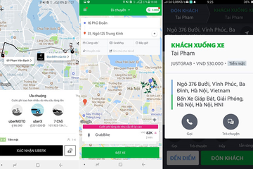 Uber, Grab: Ngày thường 80.000 đồng, cận Tết 180.000 đồng