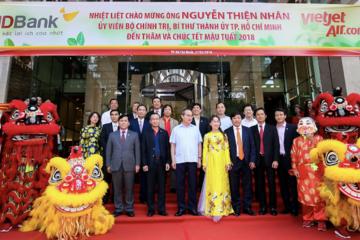 """Bí thư Thành ủy TP. HCM Nguyễn Thiện Nhân: """"HDBank, Vietjet Air là ví dụ cho năng lực quản lý, sáng tạo của người Việt Nam"""""""