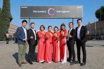 Công nhân Việt Nam được Samsung mời tham dự sự kiện ra mắt Galaxy S9 tại Tây Ban Nha