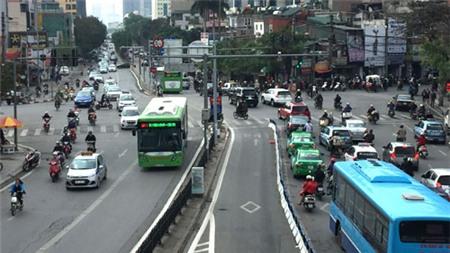 Đề xuất cho phép phương tiện khác được sử dụng làn đường của buýt BRT