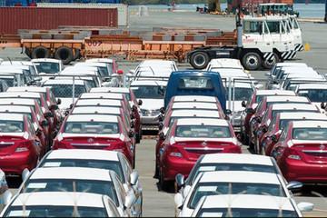 Lượng ôtô nhập khẩu trong tháng 2 giảm hàng chục lần so với cuối năm ngoái