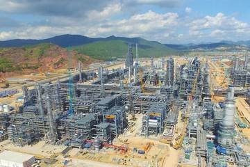 Nhá máy lọc dầu Nghi Sơn sẽ cho sản phẩm xăng A95 vào tháng 5