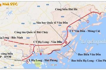 Quảng Ninh dự kiến khởi công cao tốc Vân Đồn - Móng Cái trong quý 3