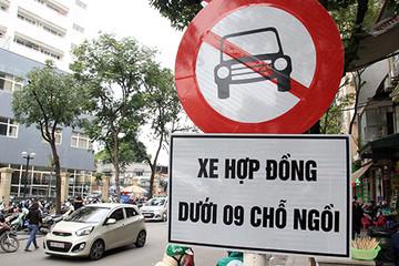 Bộ GTVT: Không có chuyện phân biệt đối xử Uber, Grab khi cấm đường
