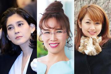 Những nữ tỷ phú giàu nhất tại từng quốc gia/vùng lãnh thổ châu Á
