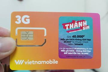 Thánh SIM siêu rẻ của Vietnamobile bị 'tuýt còi'