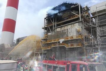 Cháy lớn tại nhiệt điện Duyên Hải 3