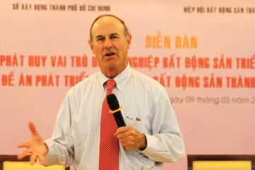 Giáo sư đại học Harvard: Thị trường địa ốc Việt Nam đi ngược với thế giới!