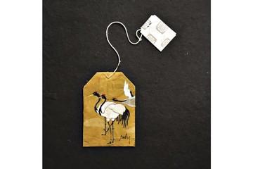 Tuyệt tác trên túi lọc trà