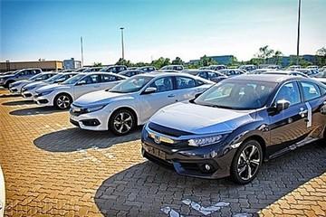 Mỗi ô tô Honda nhập hưởng thuế ưu đãi khoảng 95 triệu đồng
